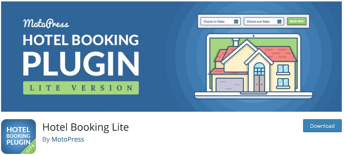 hotel booking lite wordpress plugin