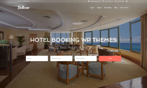 Hotel Booking Wordpress Themes