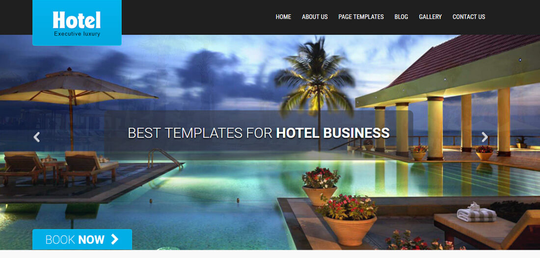 25 Top Free Hotel Website Templates To Attract Millennial Visitors