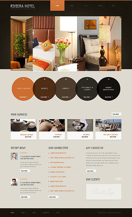 Hotels WordPress Theme Part 46