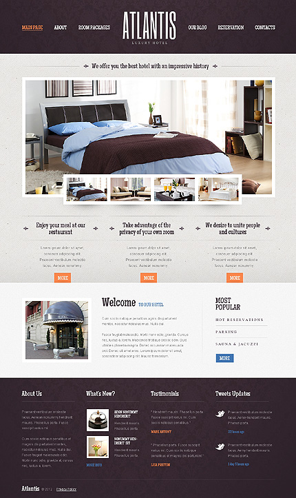 25 Best Hotel WordPress Themes With Incredible Design And ...