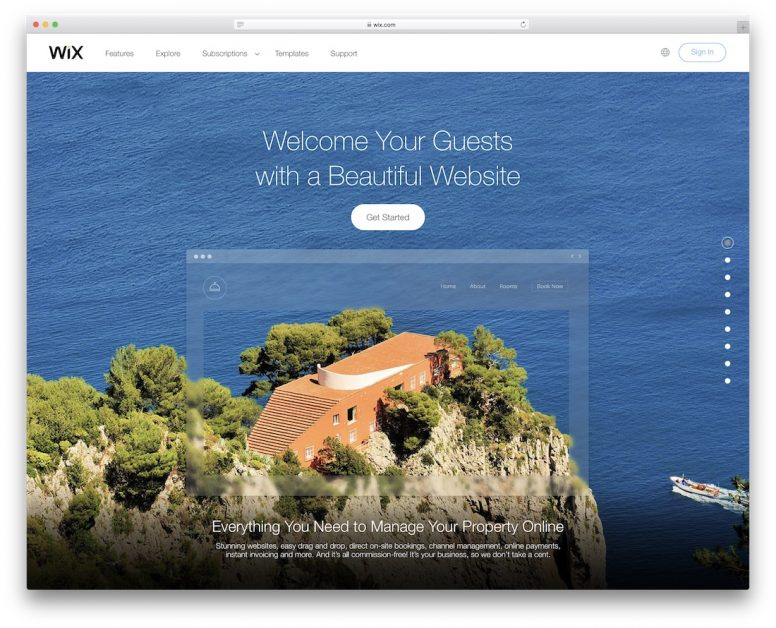 Hotel Website Builders