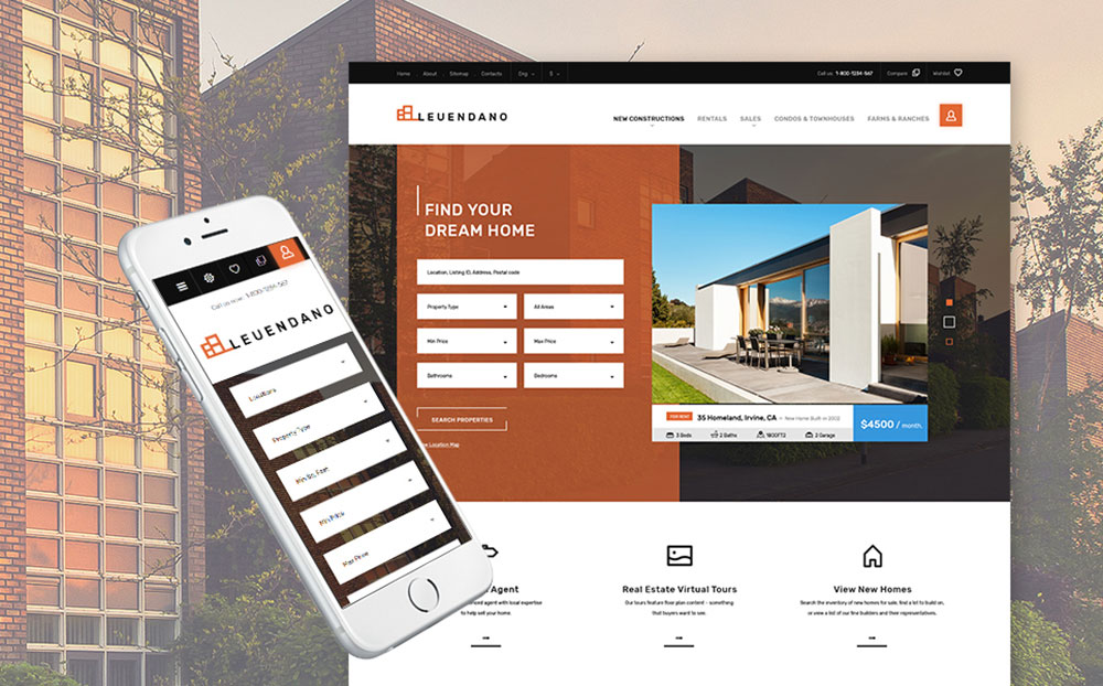 Leuendano - Real Estate Agency Responsive PrestaShop Theme
