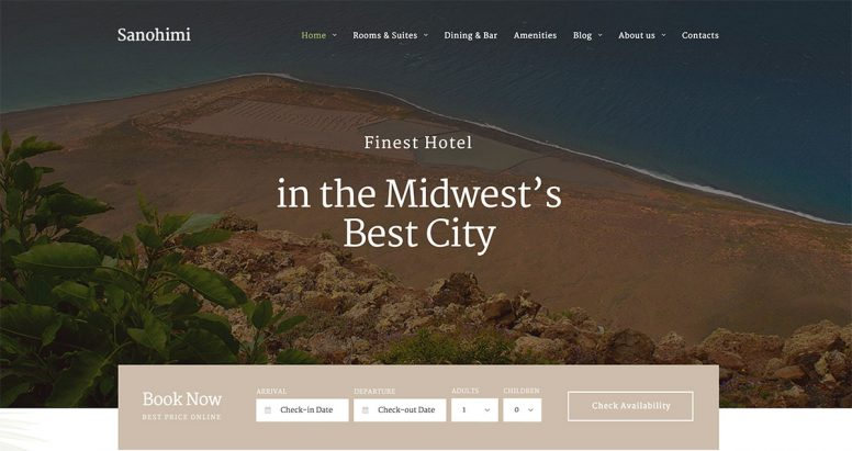 Top 15 Unlimited Luxury Hotel Responsive Themes To Build A Repeat Business