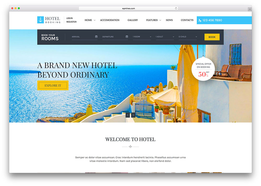 hotelbooking-light-hotel-html5-website-template
