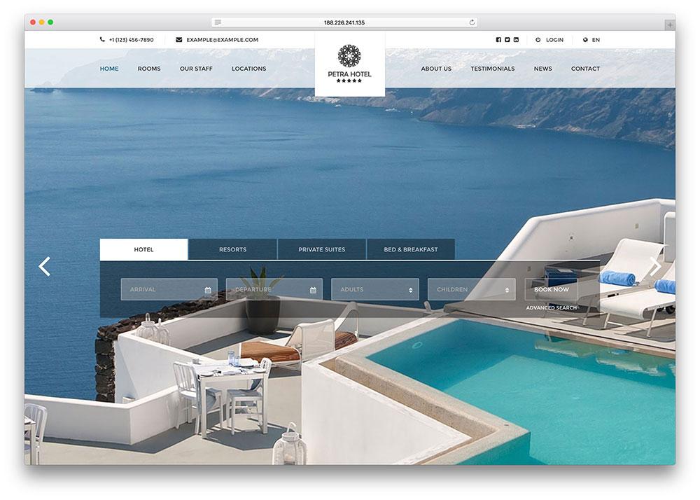 hotelpetra-fullscreen-hotel-website-template
