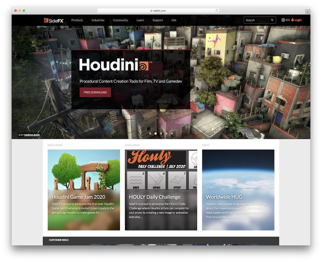 houdini 3d editing tool