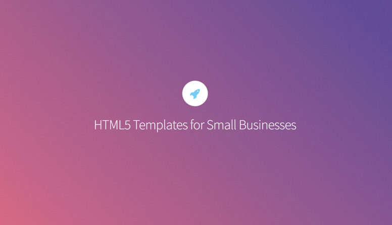 30 Free Responsive HTML5 Templates For Small Businesses 2017