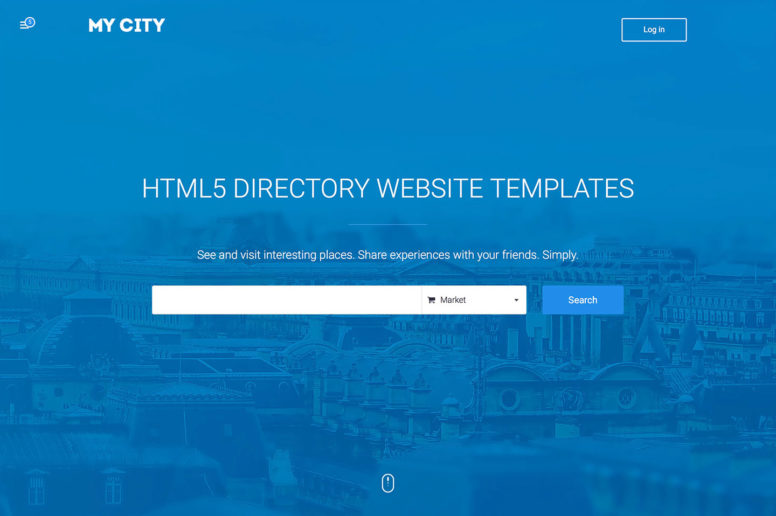 Top 18 Responsive HTML5 Directory Website Templates For Business Directories 2016