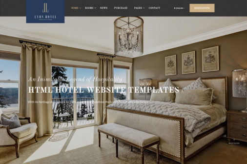 Html5 Hotel Website Templates