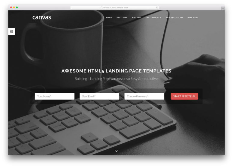 22 Awesome Landing Page Templates To Showcase Your Product Or Service [HTML & WordPress] 2017