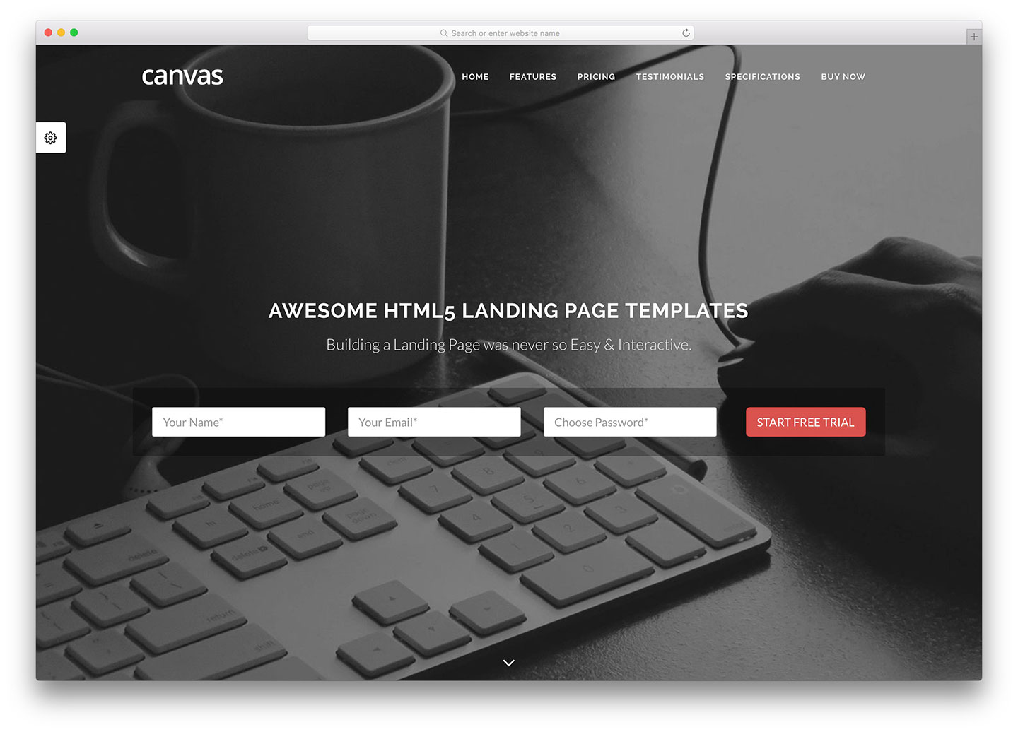 Awesome HTML Landing Page Templates Colorlib - Wordpress landing page template