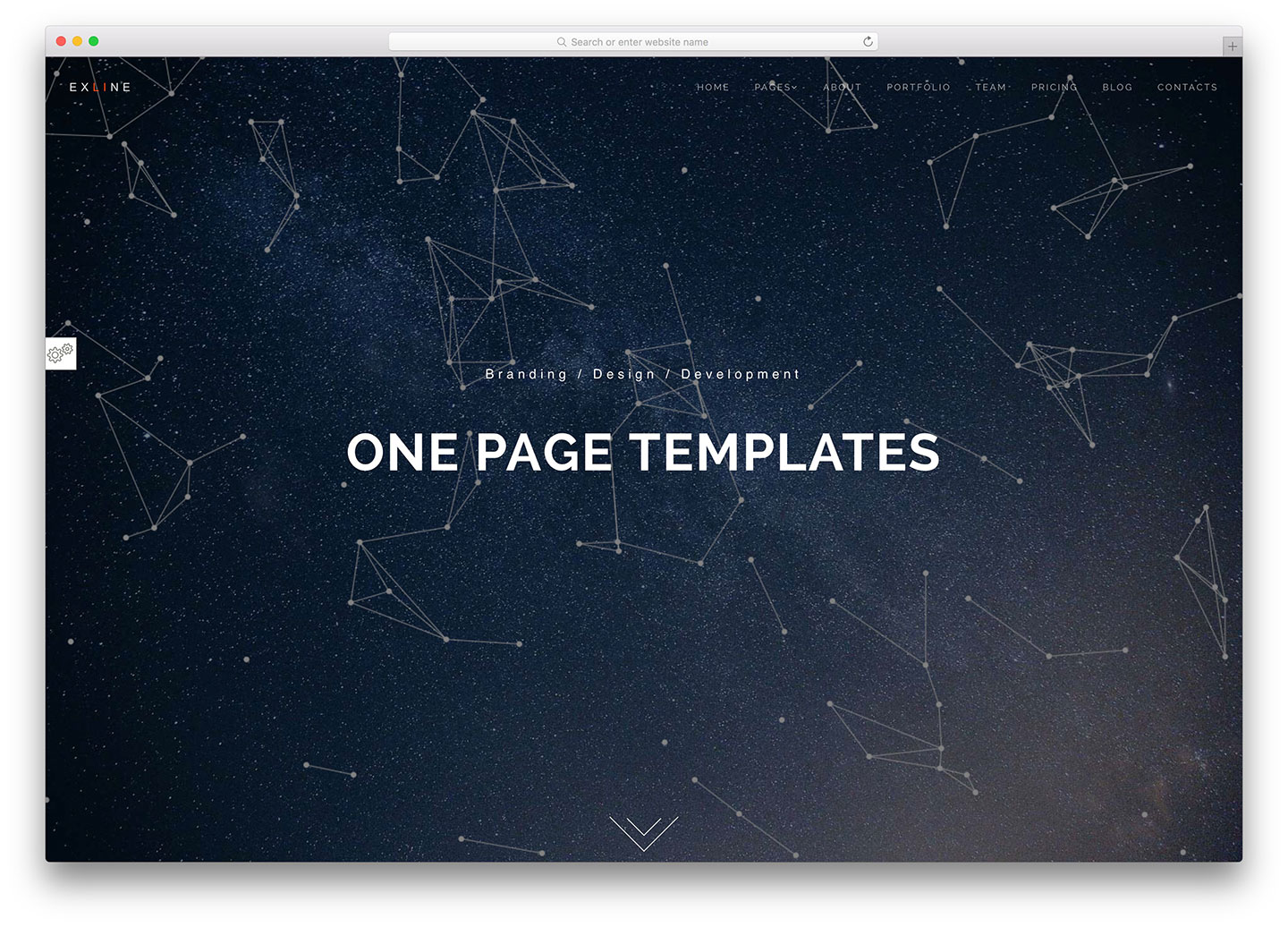 40 best html5 one page website templates 2018 colorlib for Free html5 parallax scrolling template