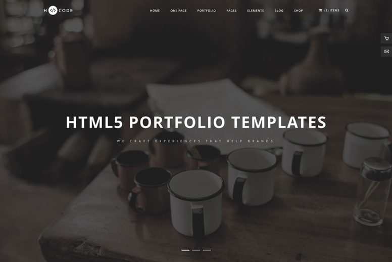 22 Best Portfolio Website Templates Based On HTML & WordPress To Showcase Your Creative Work Online 2018