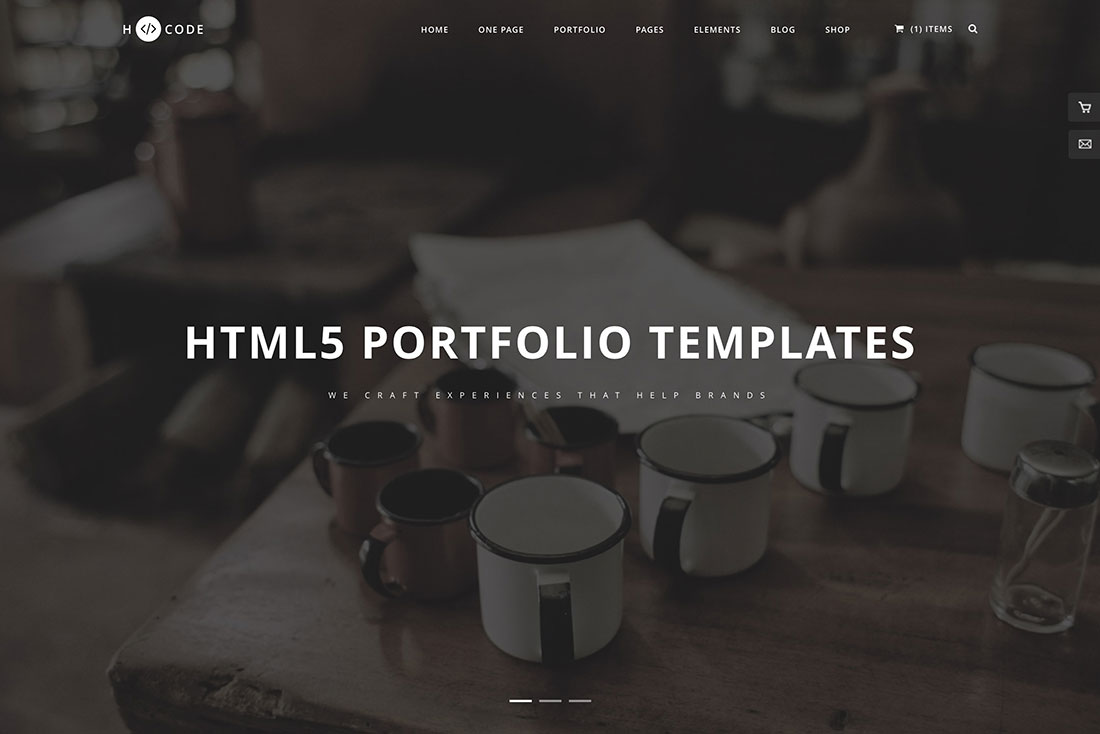 Html5 Portfolio Website Templates