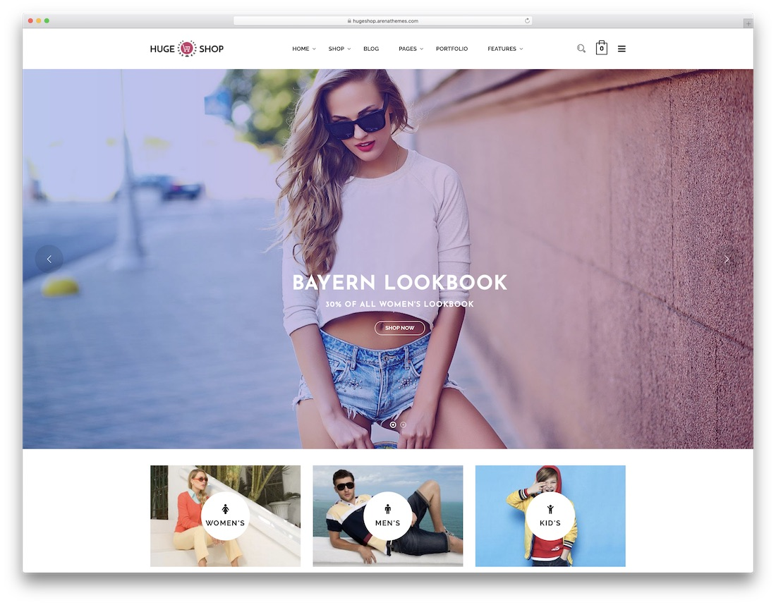 hugeshop fashion shopify theme