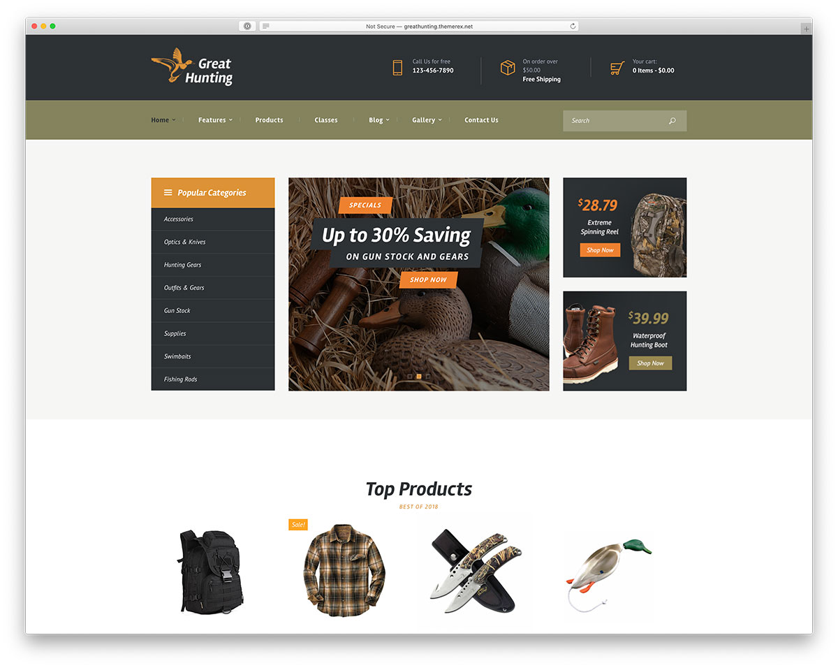Best Hunting WordPress Themes You Shouldn't Miss 2020