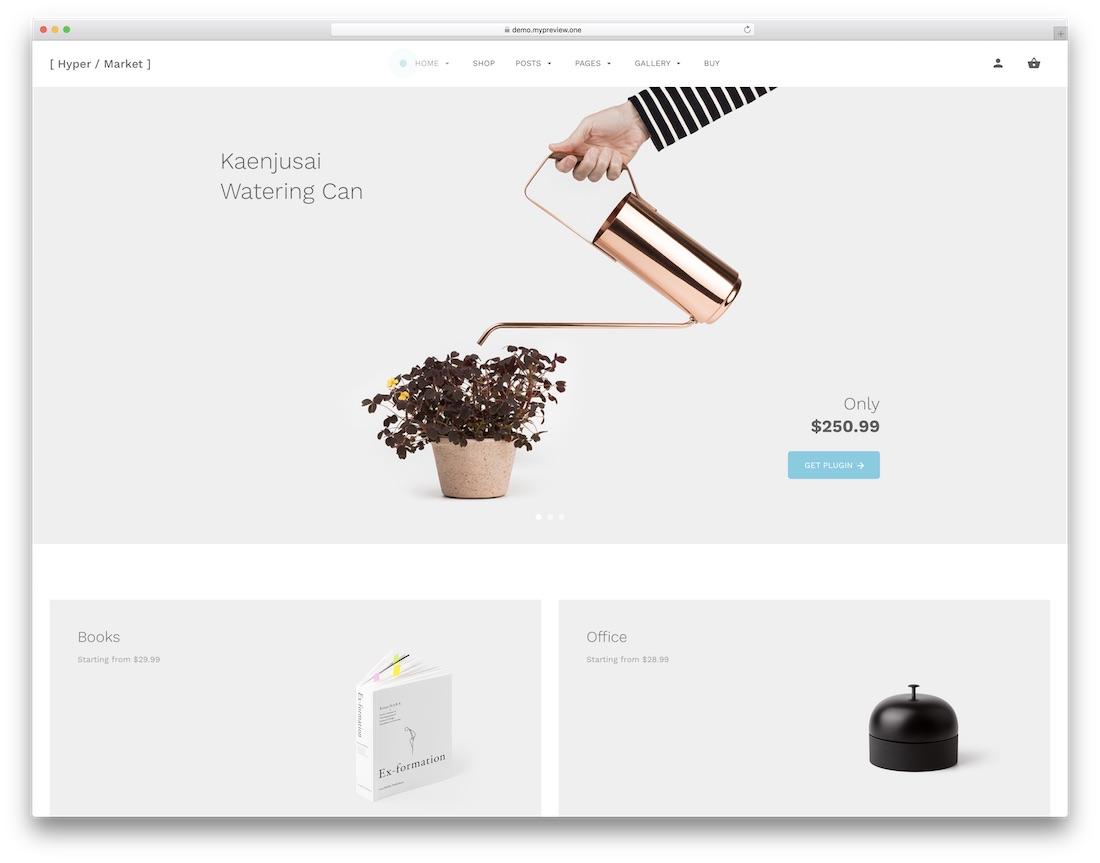 hypermarket website template