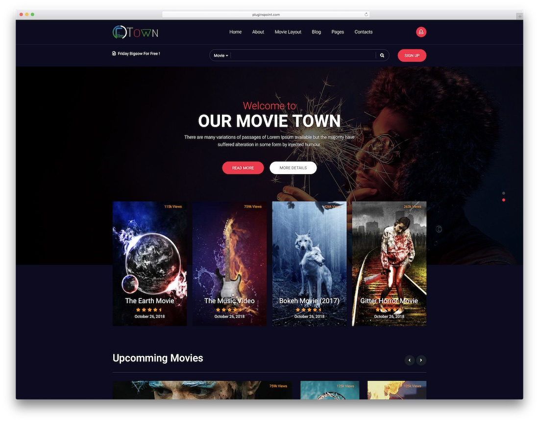 27 Highly Customizable Video Website Templates 2019 - Colorlib