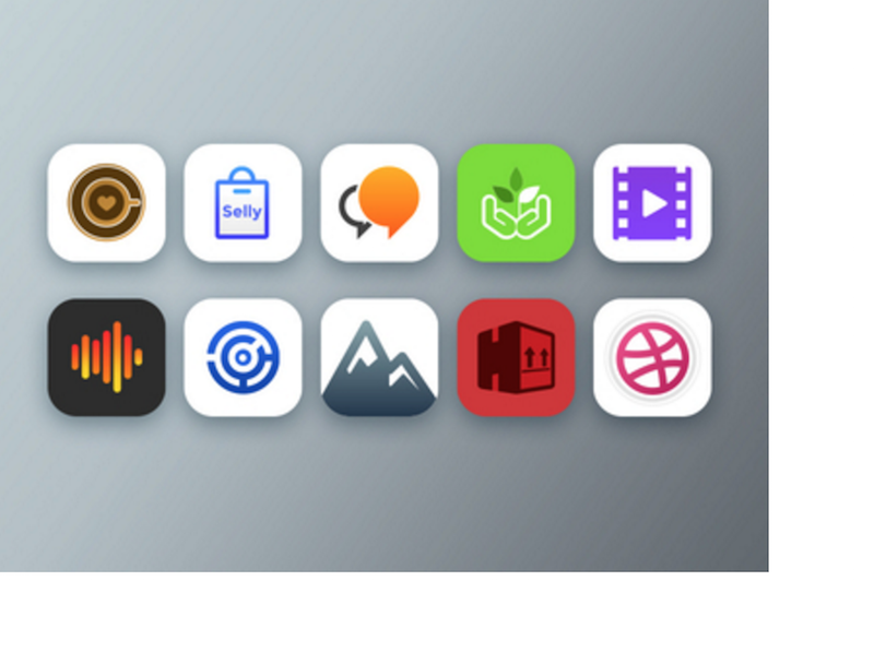 iOS Icons Freebie