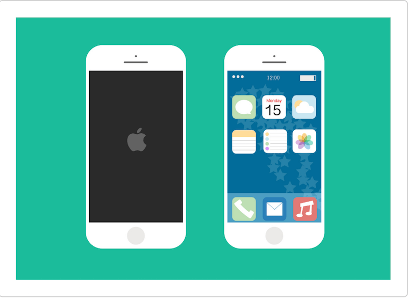 iPhone 6 Flat Vector