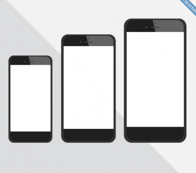 iPhone Comparison Vector