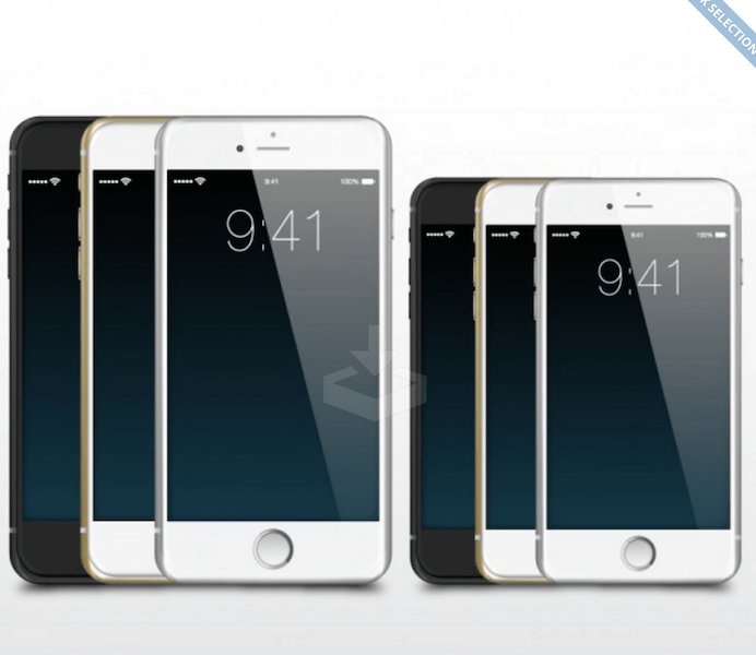 iPhone Illustration Vector