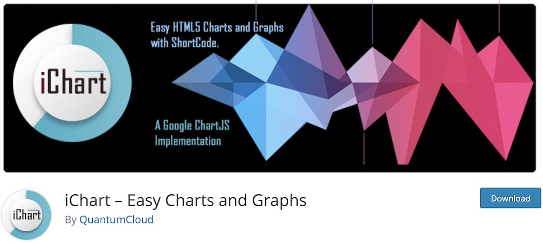 ichart data visualization wordpress plugin