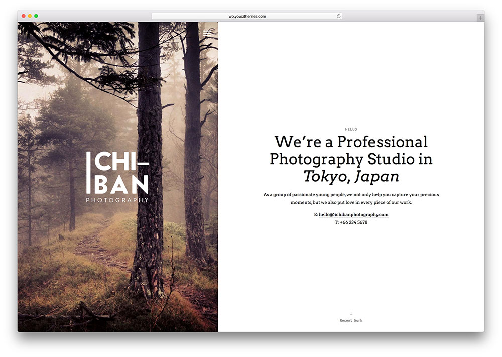 ichiban-creative-theme-for-photographers