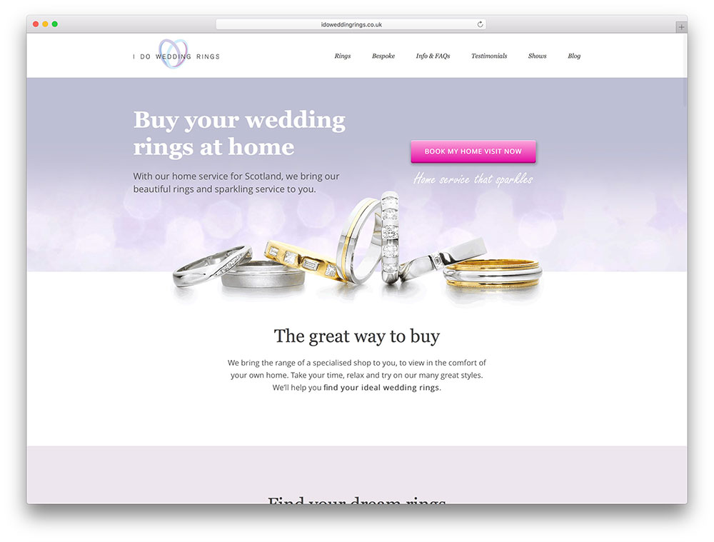 idoweddingrings-avada-wordpress-website