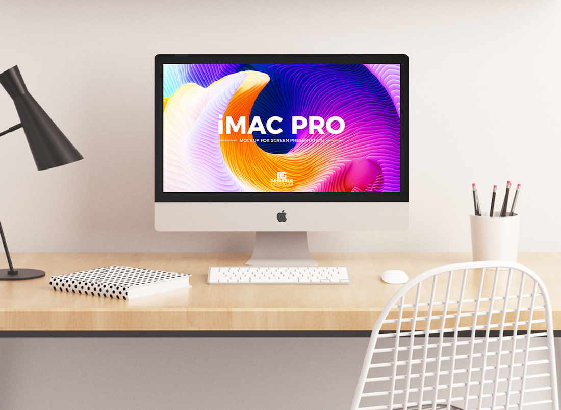 33 Free IMac Mockups For Professional Presentation 2020