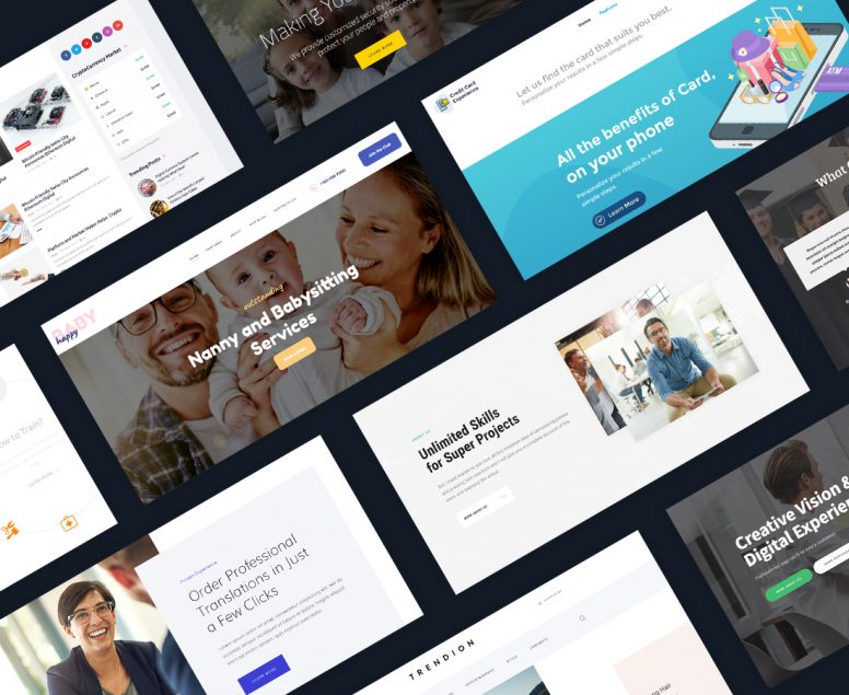 20 Newest WordPress Themes To Build Your Site In 2018