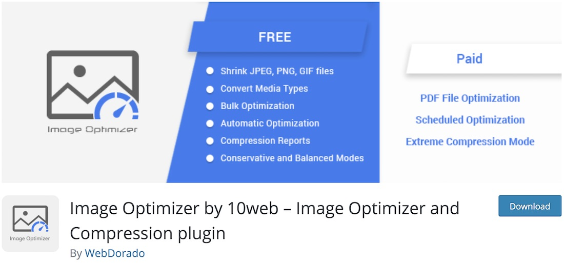 image optimizer wd