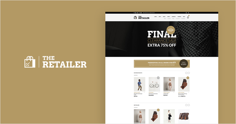 The Retailer WooCommerce theme