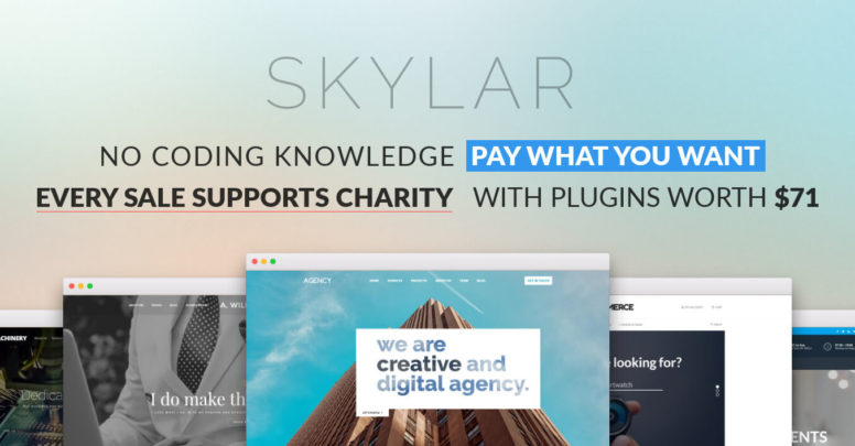 Skylar Theme Review: The Pay What You Want Multi-Purpose WordPress Theme