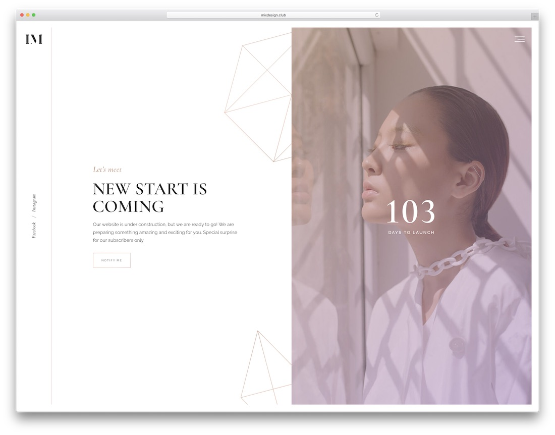 imbue coming soon website template