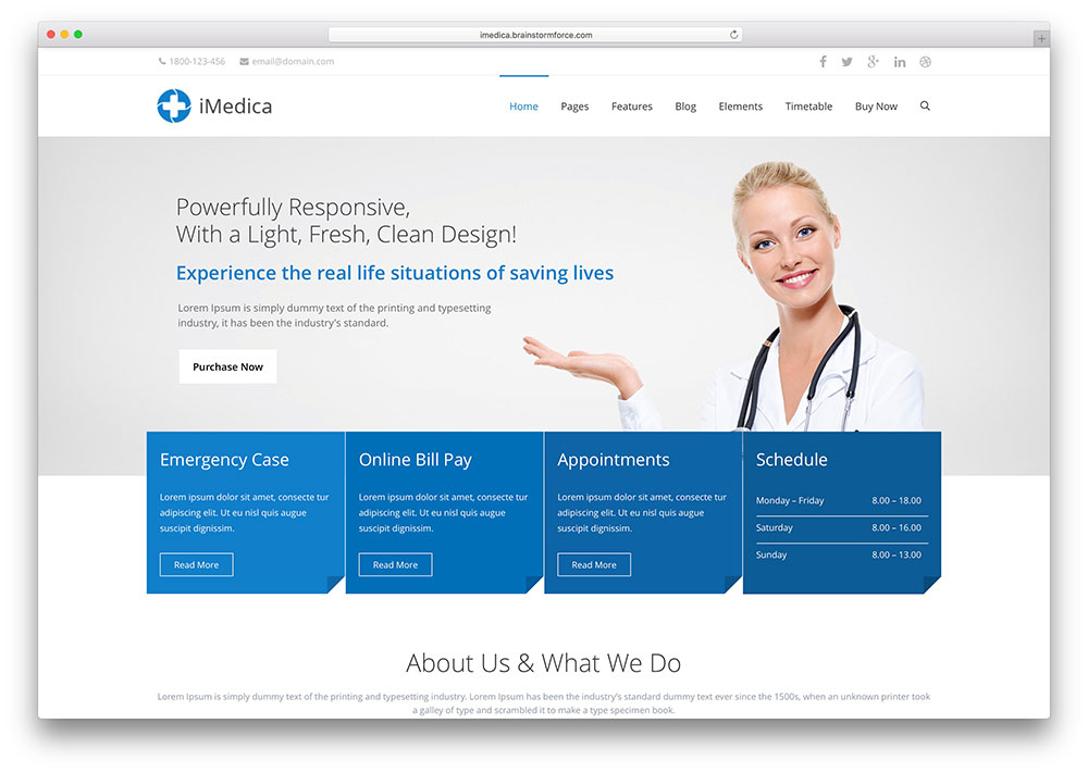 imedica-popular-dentist-wordpress-theme