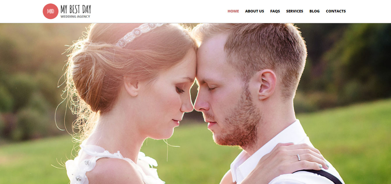 Wedding Planning Consultancy WordPress Theme