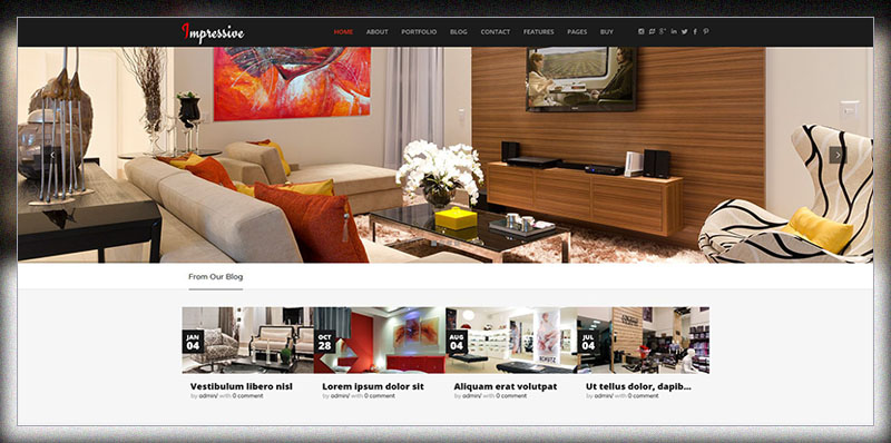 20 Best Interior Design WordPress Themes 2017 - Colorlib
