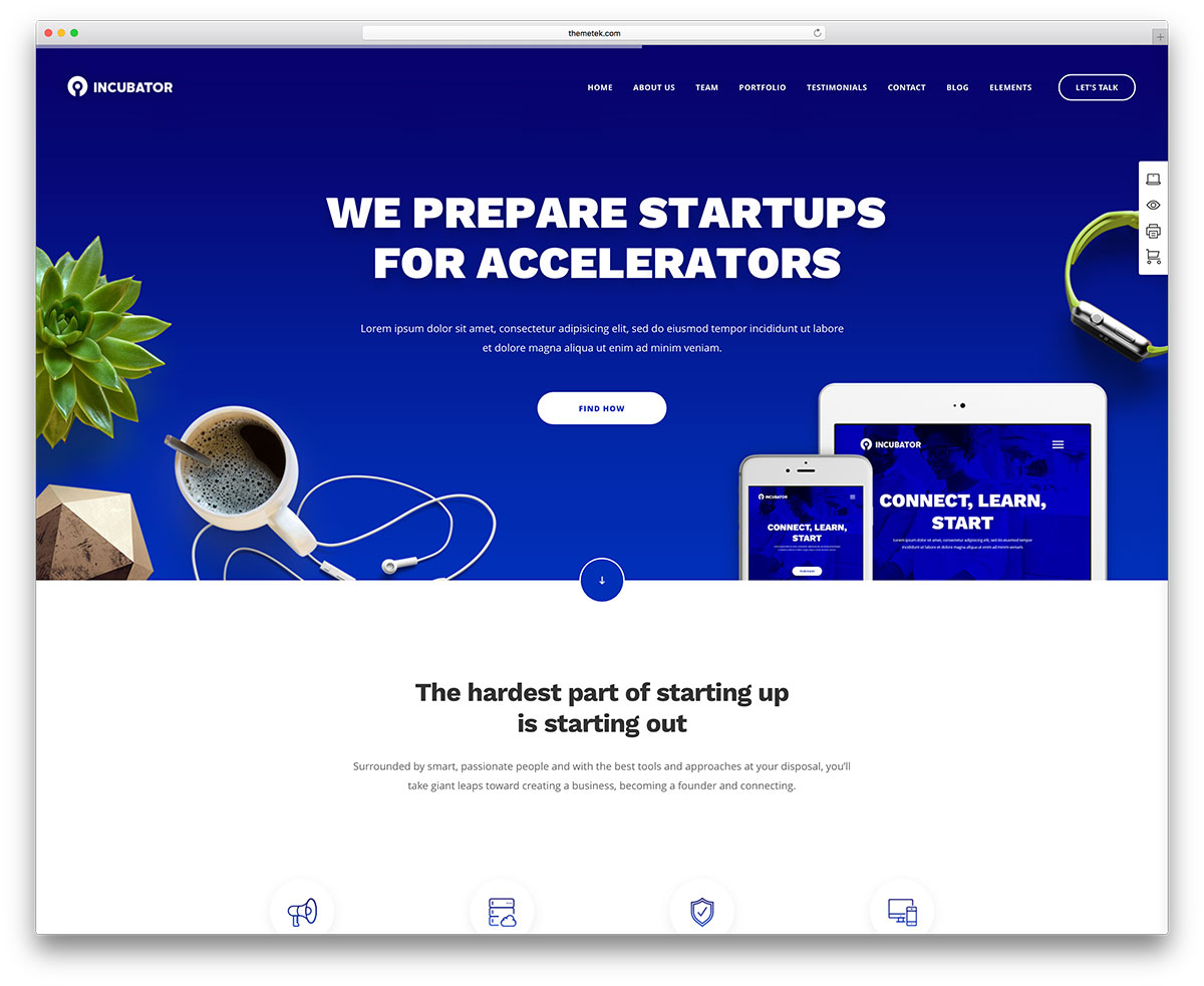 incubator-tech-startup-wp-template