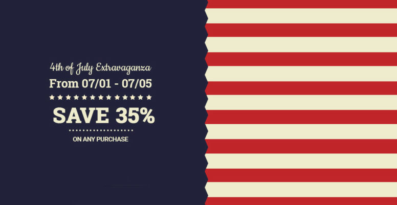 Get A 35% Discount On TemplateMonster Premium Themes For The 4th Of July
