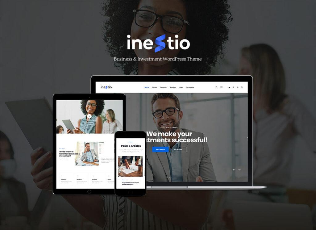 Inestio   Business & Creative WordPress Theme