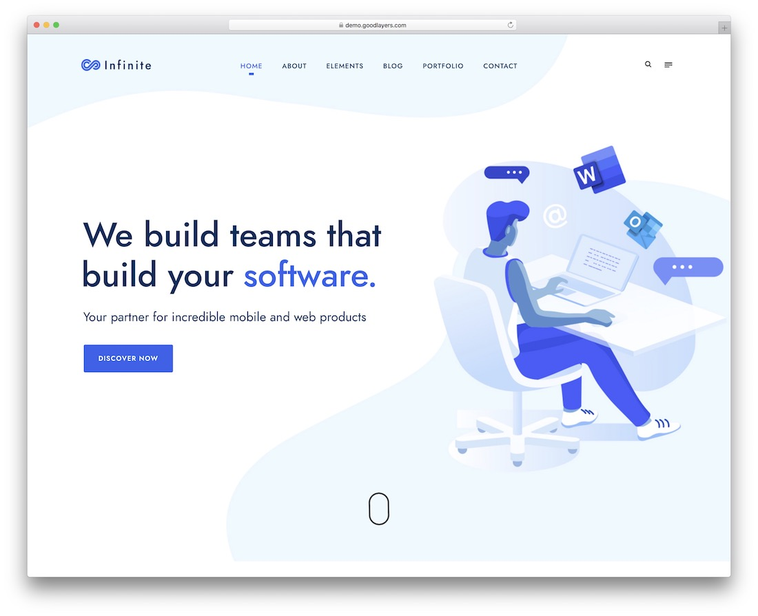 36 Best App & Software Showcase WordPress Themes 2019 - Colorlib