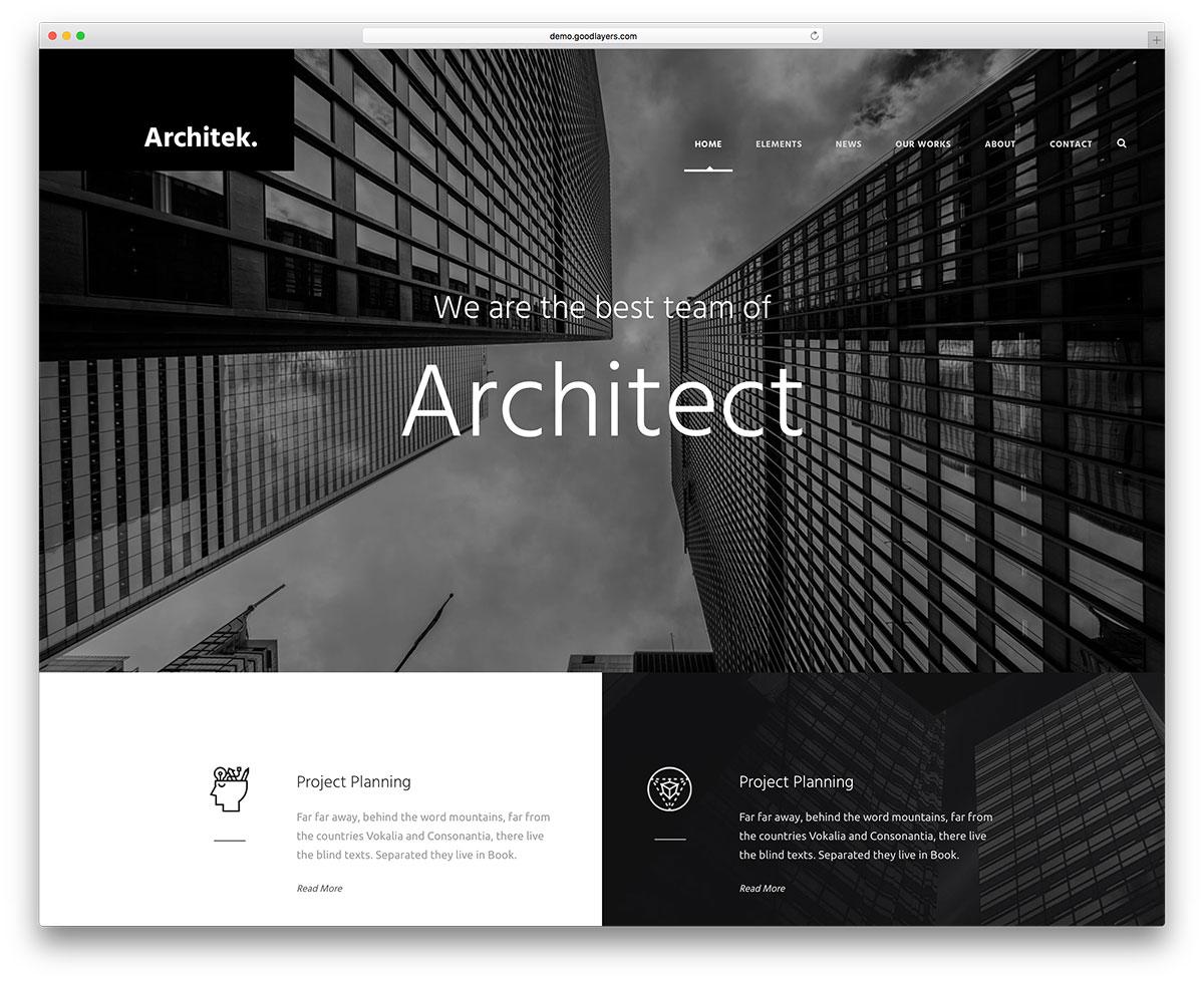 infinite-best-architect-wordpress-web-template