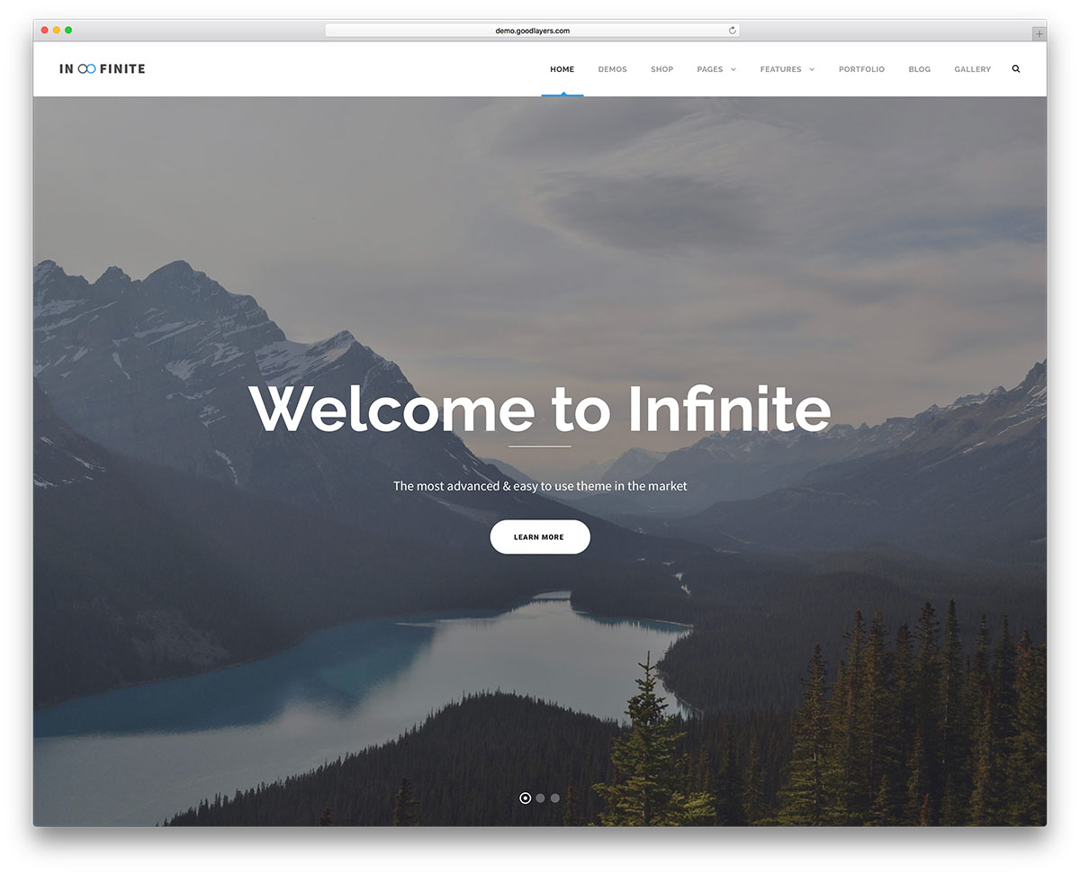 infinite-business-landing-page-website-theme