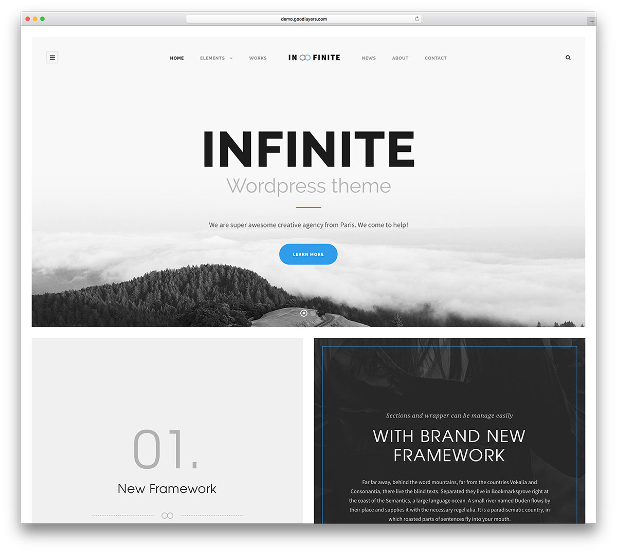 30 clean and simple wordpress themes 2018 colorlib for What wordpress template is this