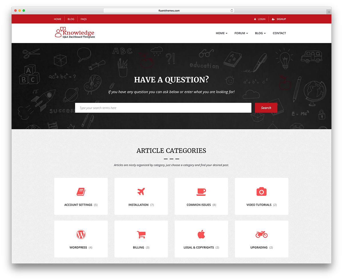 8728f1361186 InfoCenter is a tech problem and solution WordPress theme. It is a simple  and intuitive theme suitable for people who want to find solutions on their  own ...
