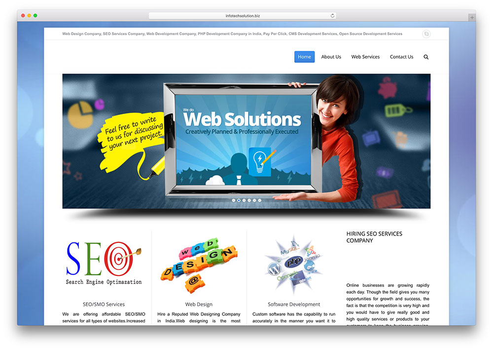 infotechsolution-seo-service-site-example