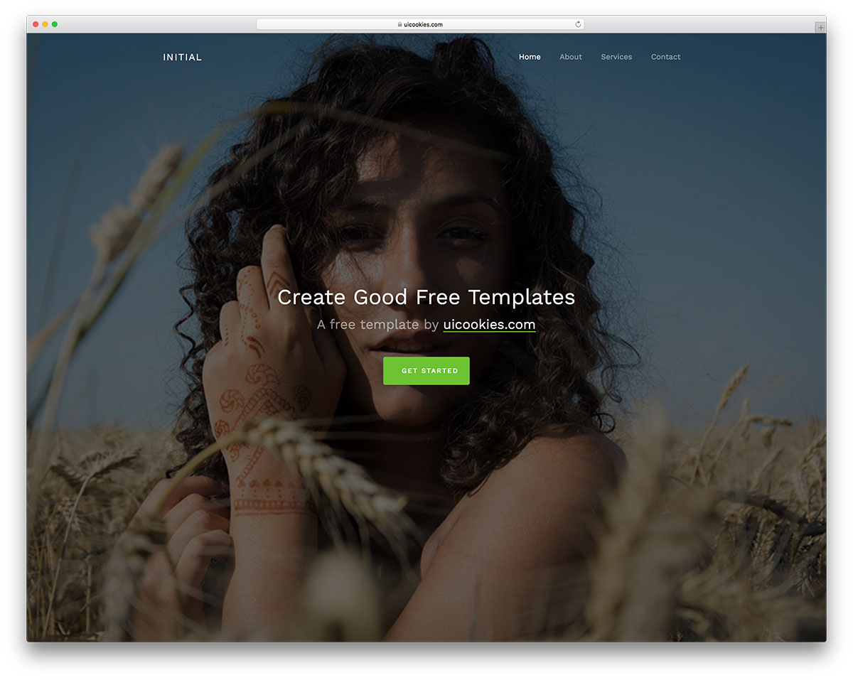 Make Things Your Way Go Against The Norm And Start Something Novel All This You Can Do With Help Of Initial Free Html Website Template