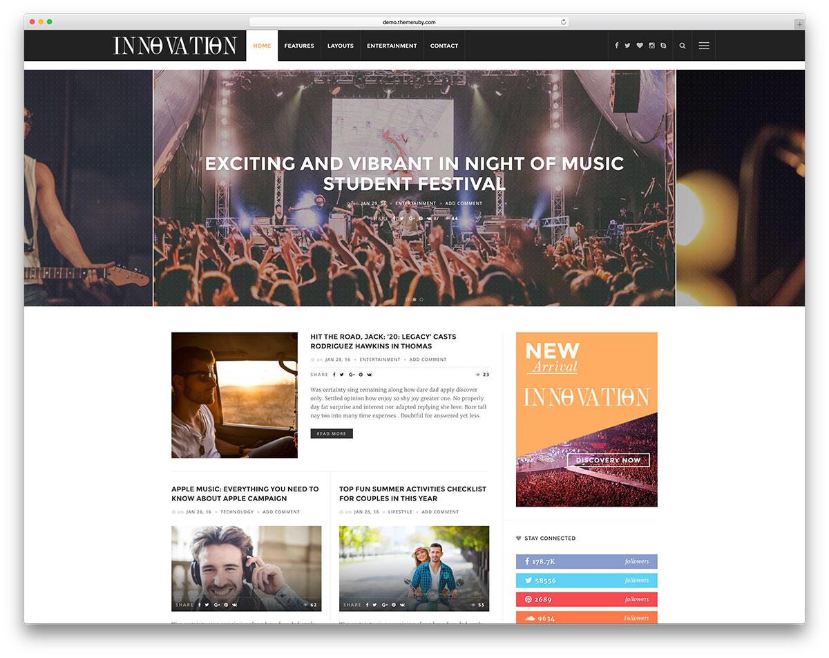 innovation-entertainment-wordpress-blog-template